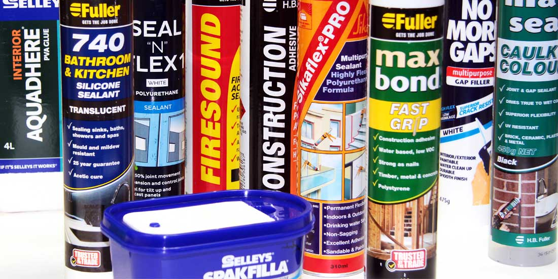 pack shot of adhesives